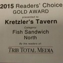 Gold Award Winning Fish Sandwich